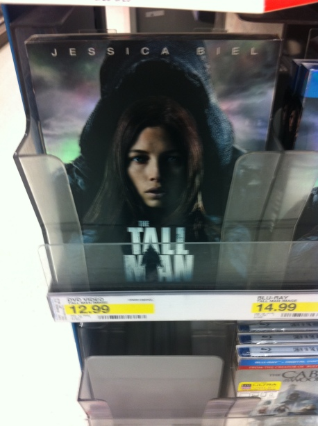 Tall Man DVD cover Target Stores