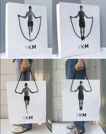 creative shopping bag design