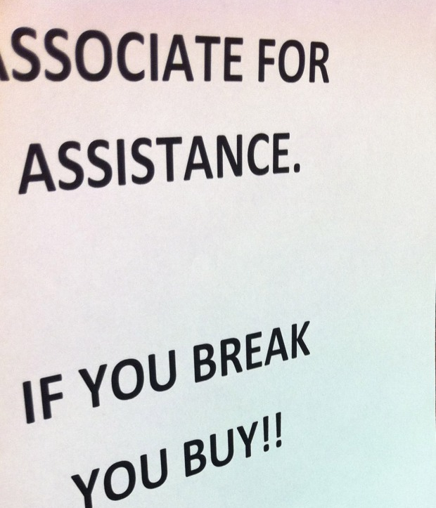 If you break you buy is CRAP!