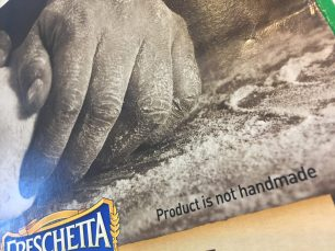 Freschetta - The Product is Not Handmade